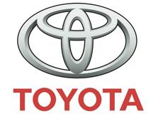 Code couleur pour Toyota