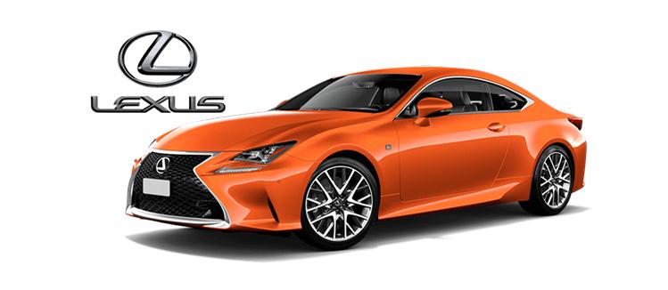Lexus peinture voiture